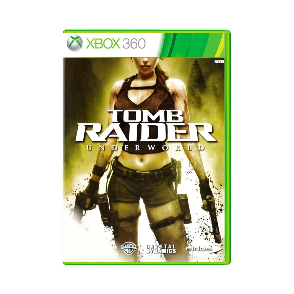 Jogo Tomb Raider Underworld - Xbox 360