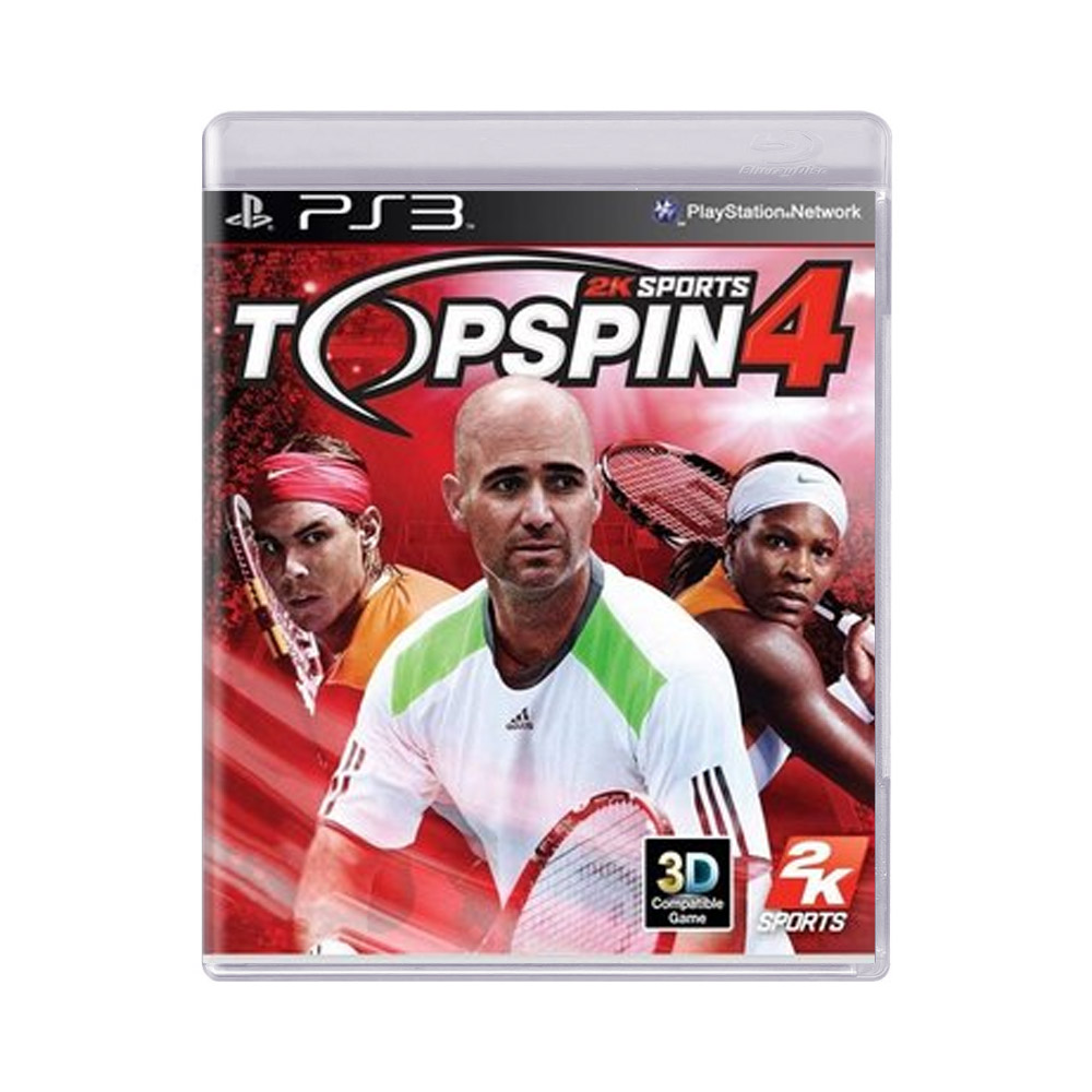 Jogo Top Spin 4 - PS3