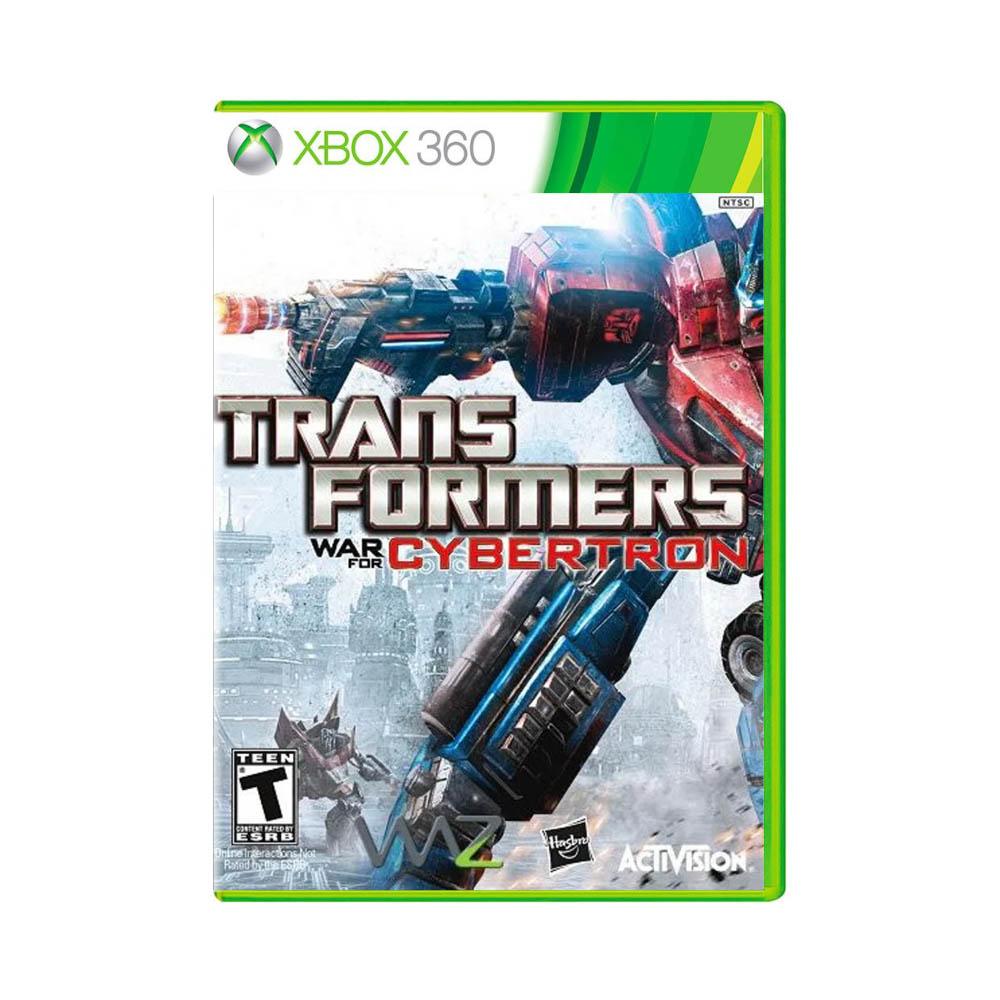 Jogo Transformers: War for Cybertron - Xbox 360
