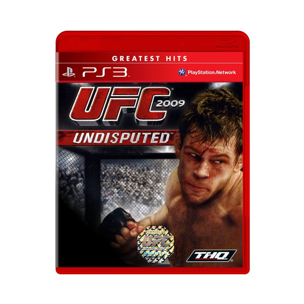 Jogo UFC 2009 Undisputed Greatest Hits - PS3