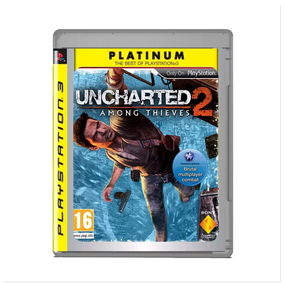 Jogo Uncharted 2 Among Thieves Platinium Hits - PS3