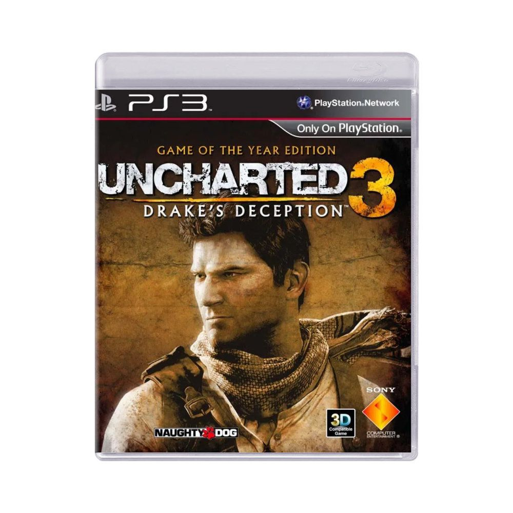 Jogo Uncharted 3 Drake's Deception Game of The Year Edition - PS3