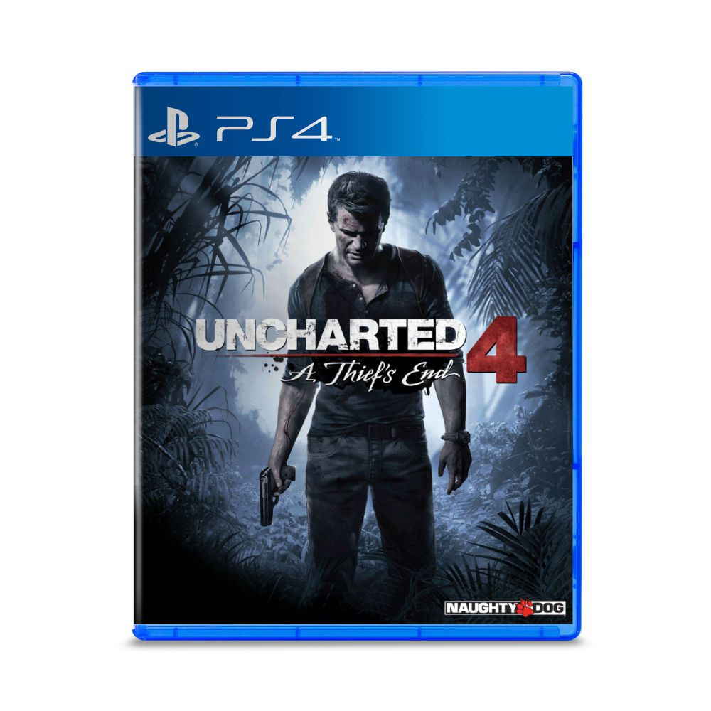 Jogo Uncharted 4 A Thiefs End - PS4