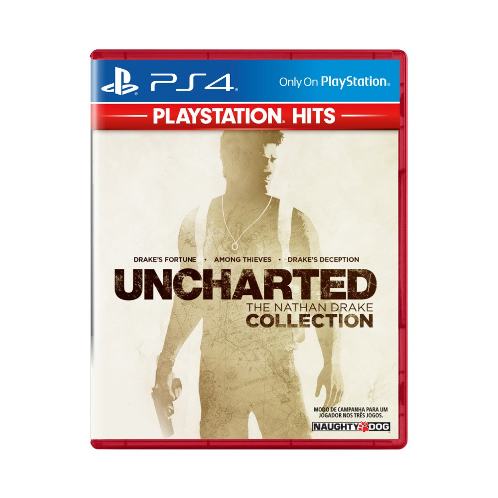 Jogo Uncharted The Nathan Drake Collection Playstation Hits - PS4