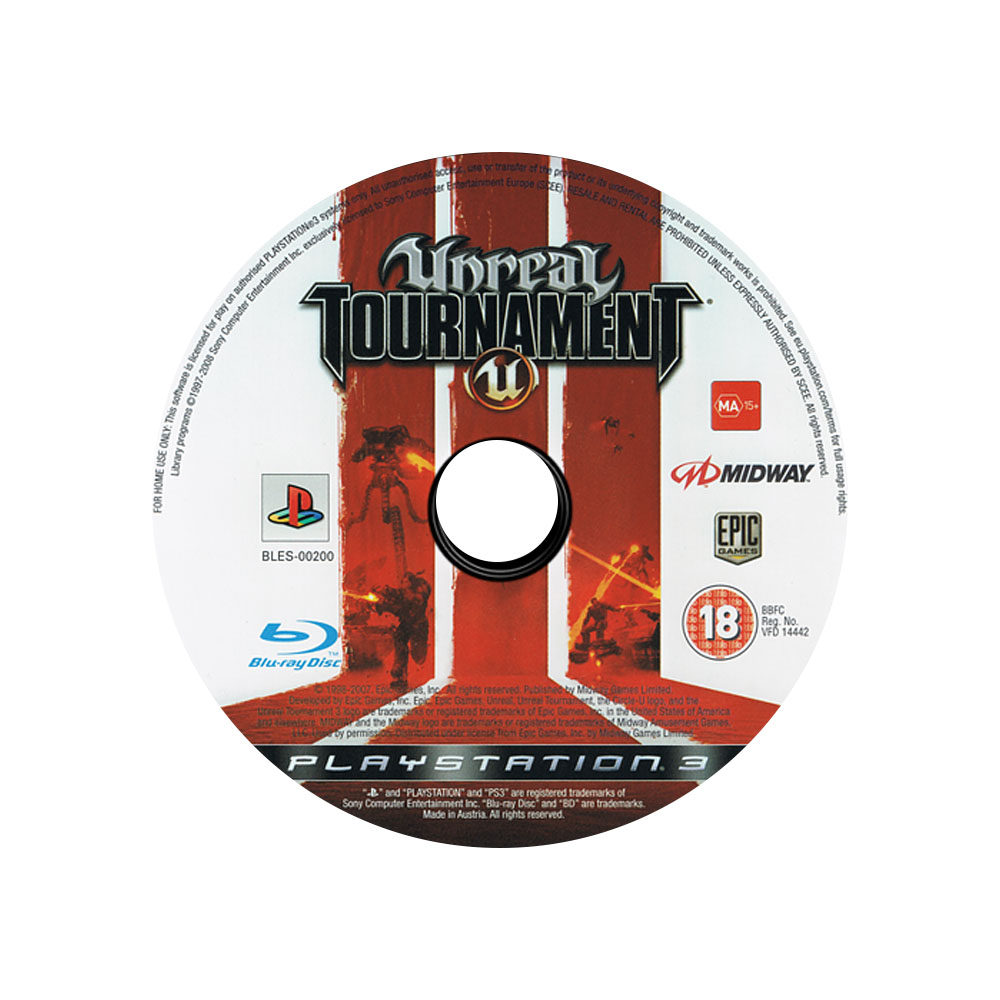 Jogo Unreal Tournament 3 - PS3 - SEM ENCARTE