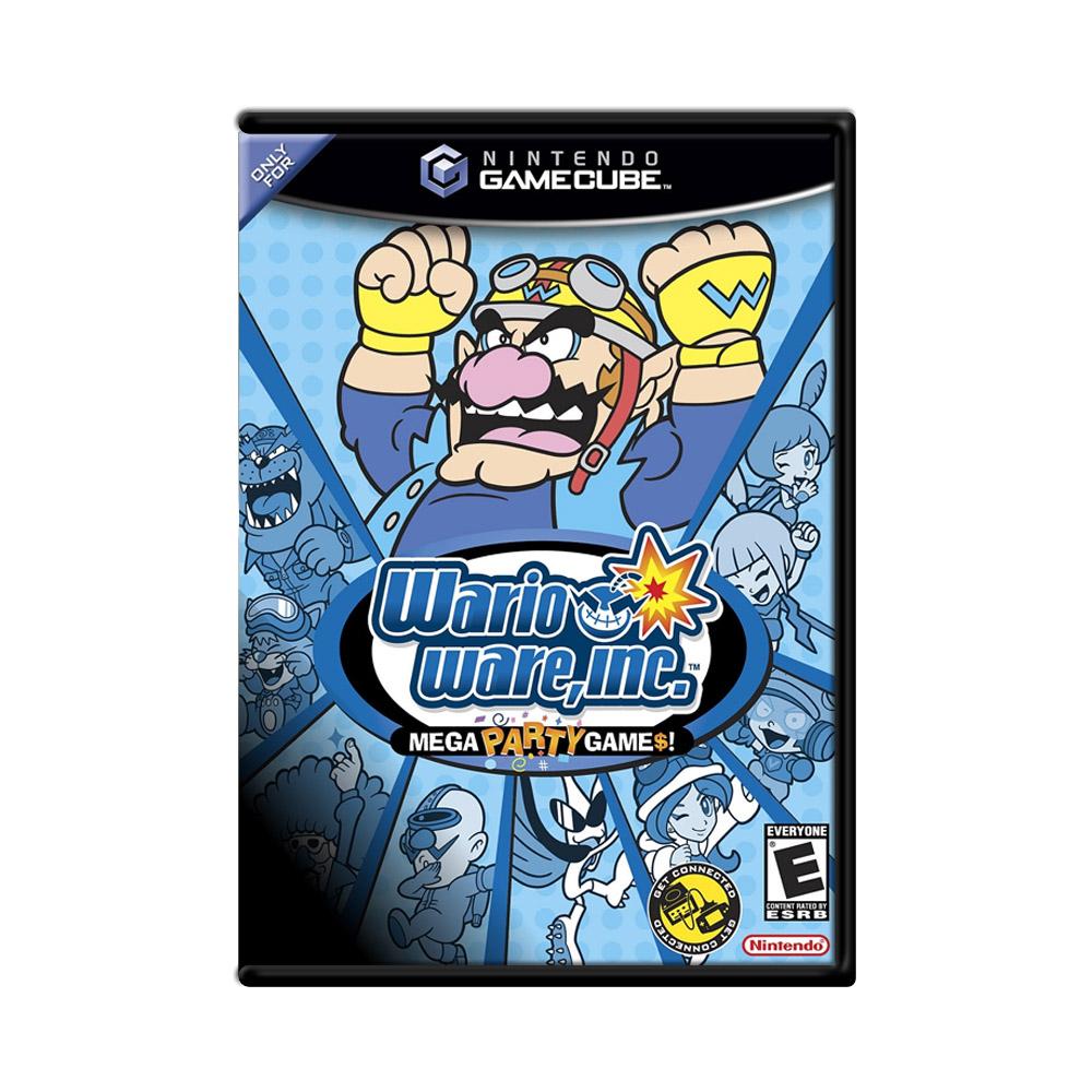 Jogo Wario Ware Inc. - GameCube