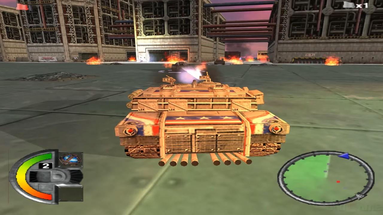 Jogo WDL World Destruction League: Thunder Tanks - PS2