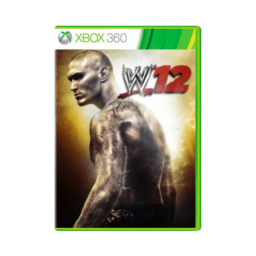 Jogo WWE 2K12 - Xbox 360
