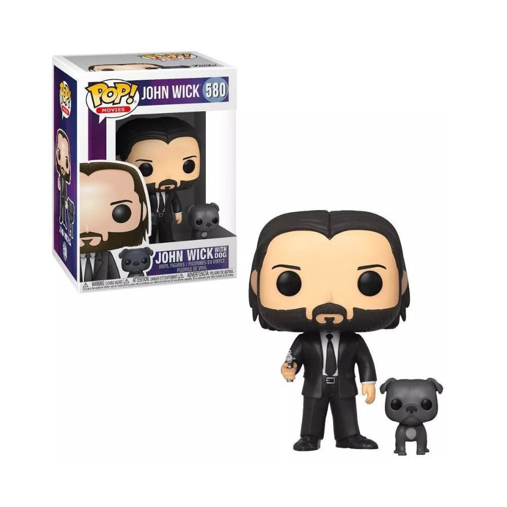 POP! Funko - John Wick with Dog 580 - John Wick