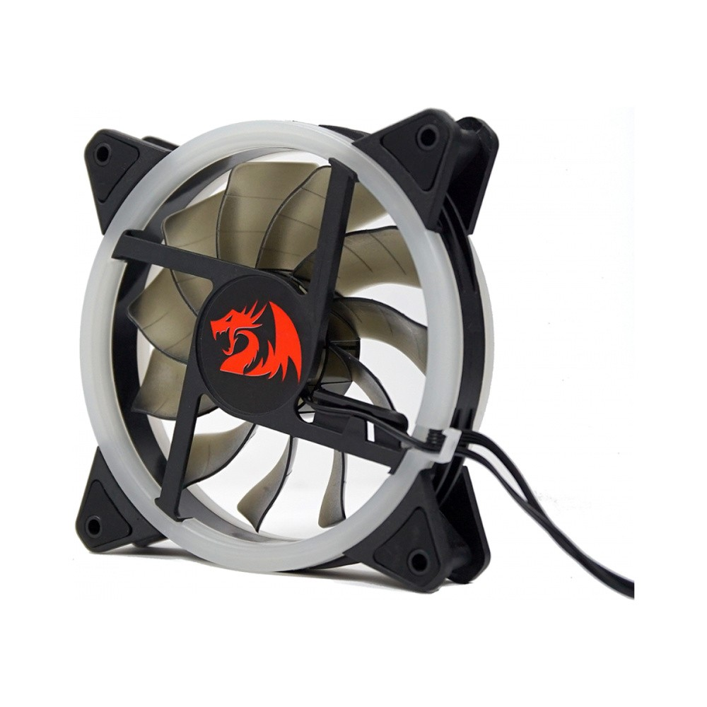 Kit Com 3 Fans Redragon GC-F011 12CM RGB