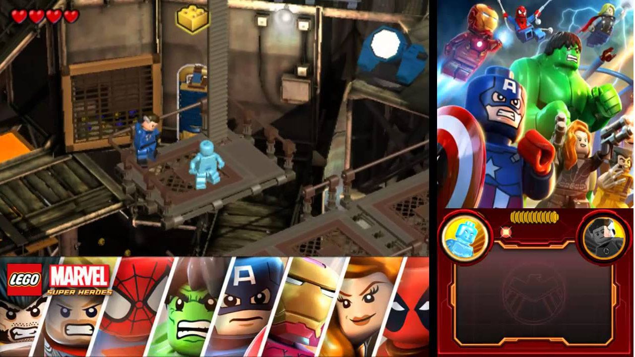 Jogo LEGO Marvel Super Heroes - 3DS