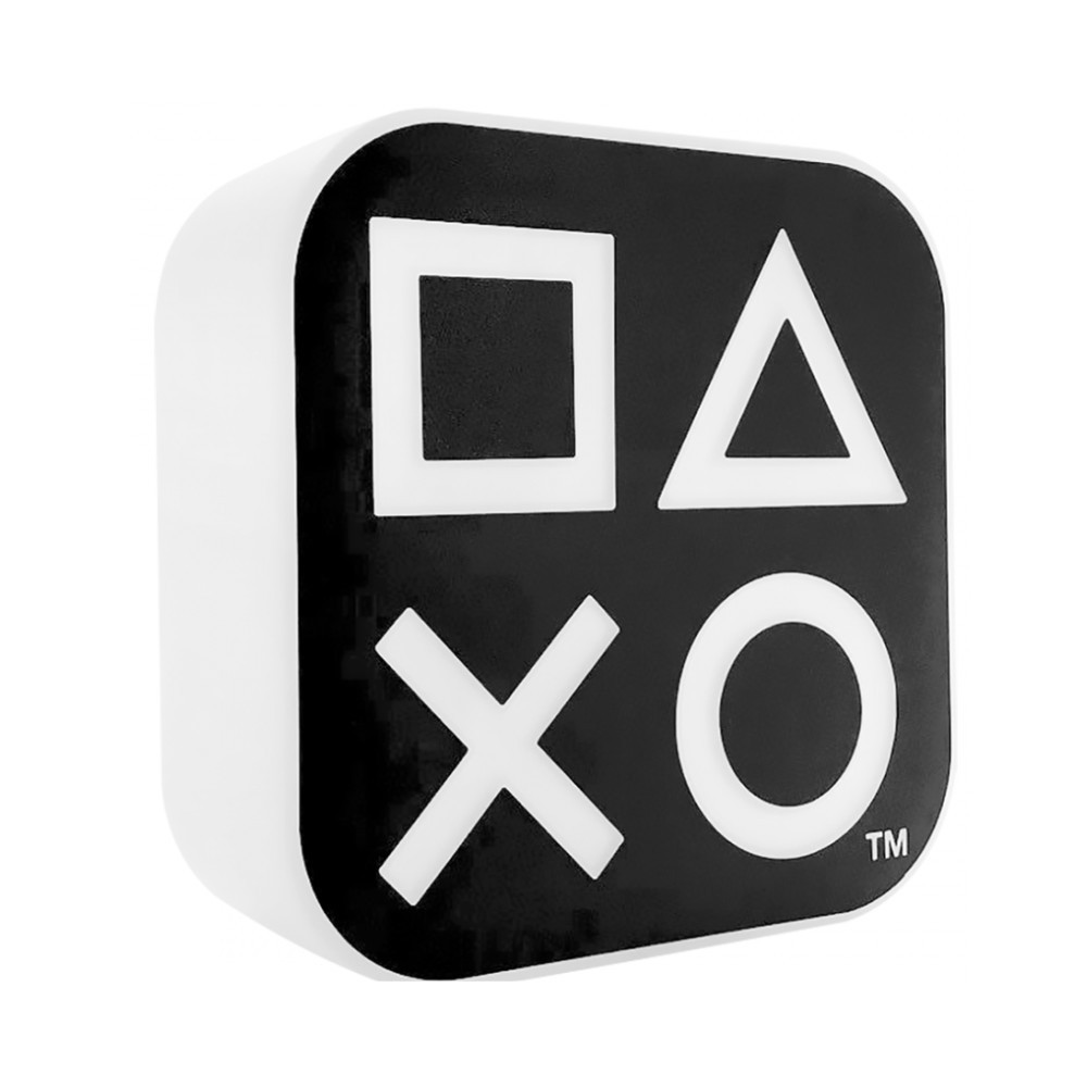 Luminária Botões PlayStation - Sony - Preta 32X30
