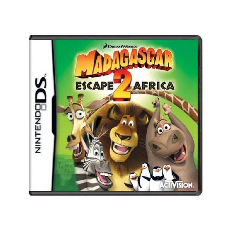 Jogo Madagascar Escape 2 Africa - DS