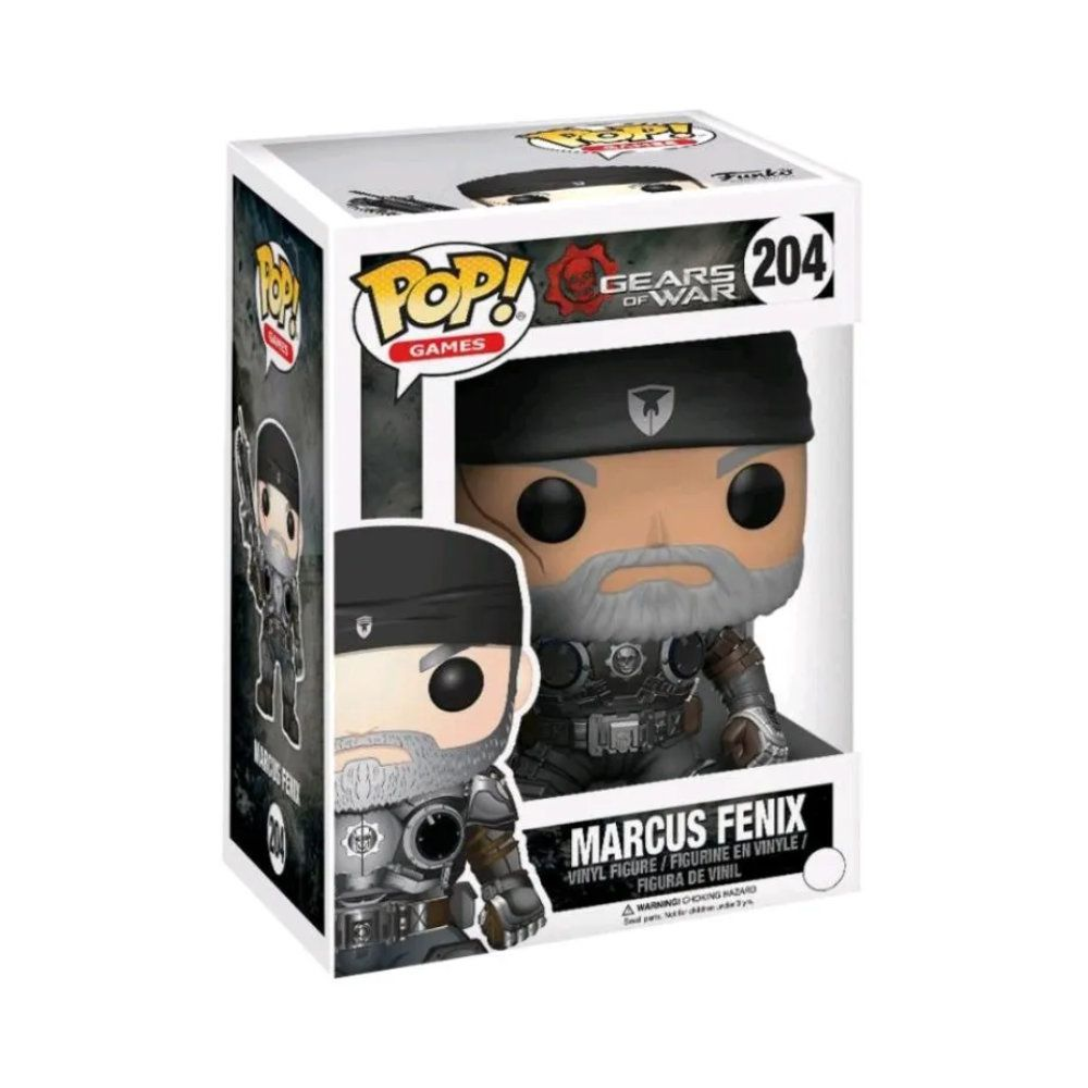 POP! Funko - Marcus Fenix 204 - Gears of War