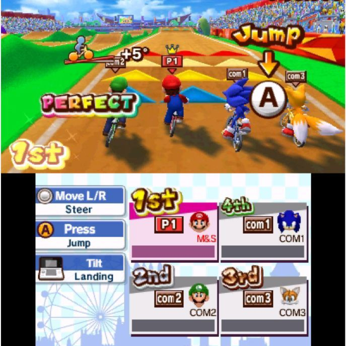 Mario & Sonic at the London 2012 Olympic Games - 3DS