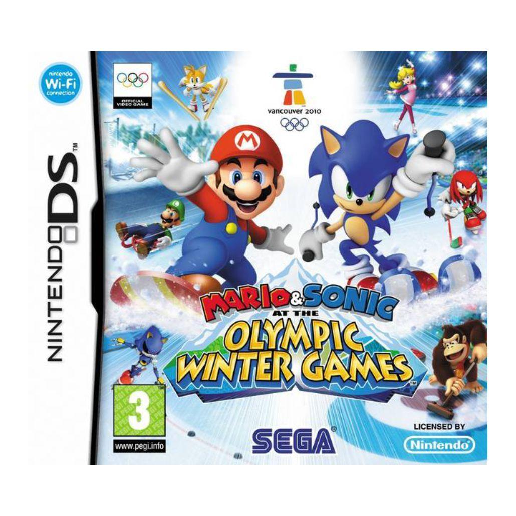 Mario & Sonic Olympic Winter Games - Dsi - EUROPEU