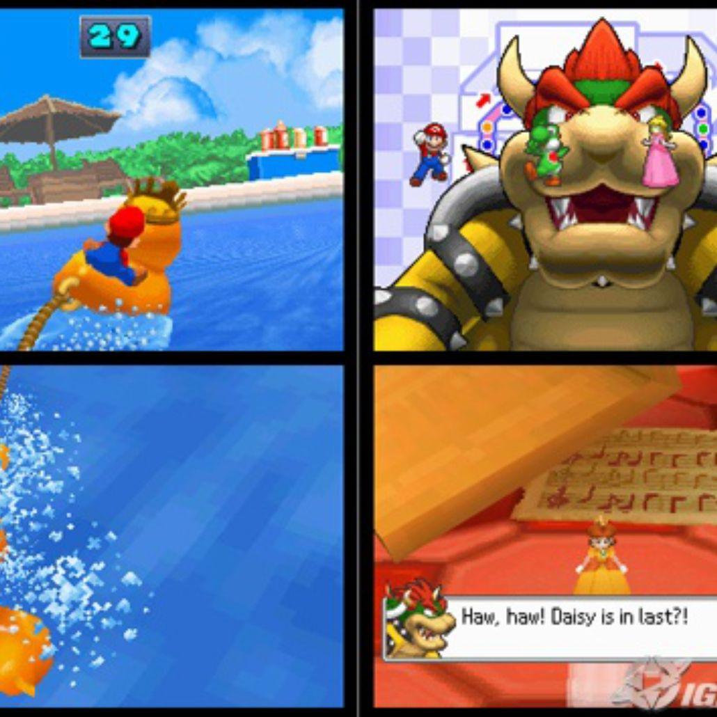 Mario Party - DSi