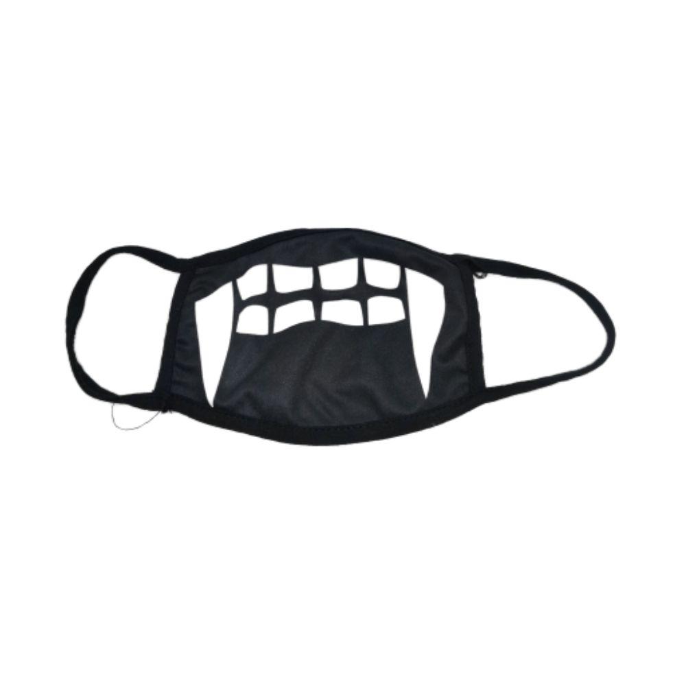 Máscara Com Dentes