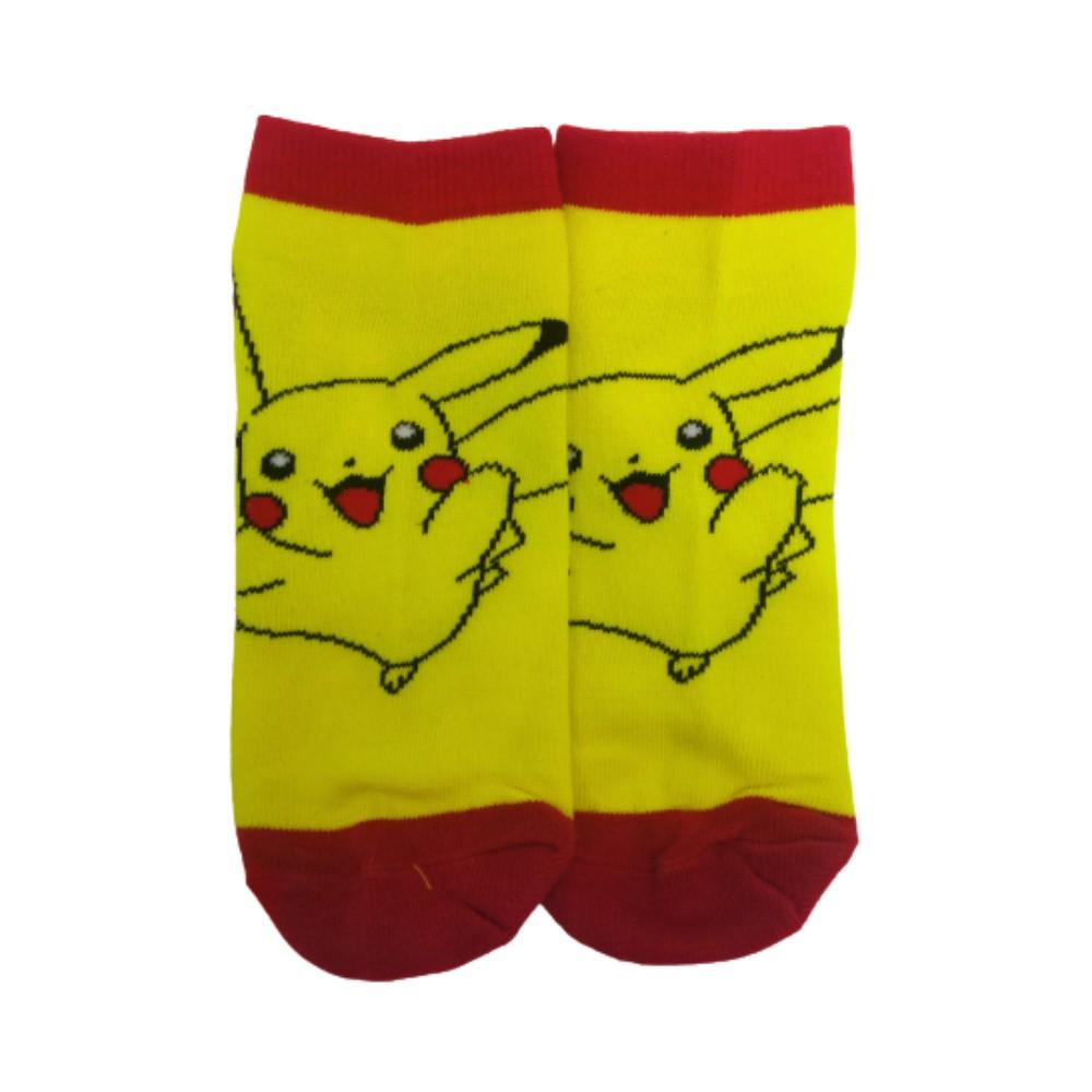 Meia Pikachu - Pokémon - Cano Baixo