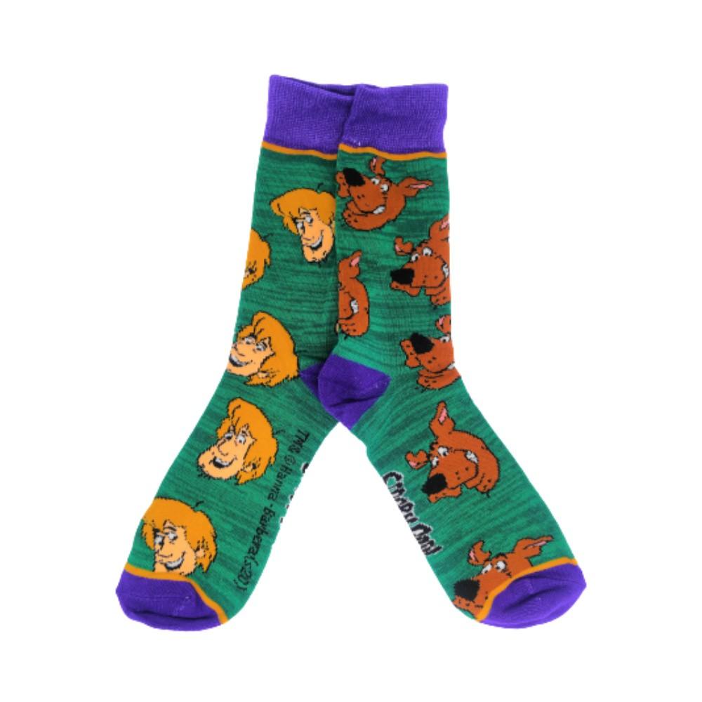 Meia Scooby Doo & Salsicha - What's New, Scooby Doo? - Cano Alto