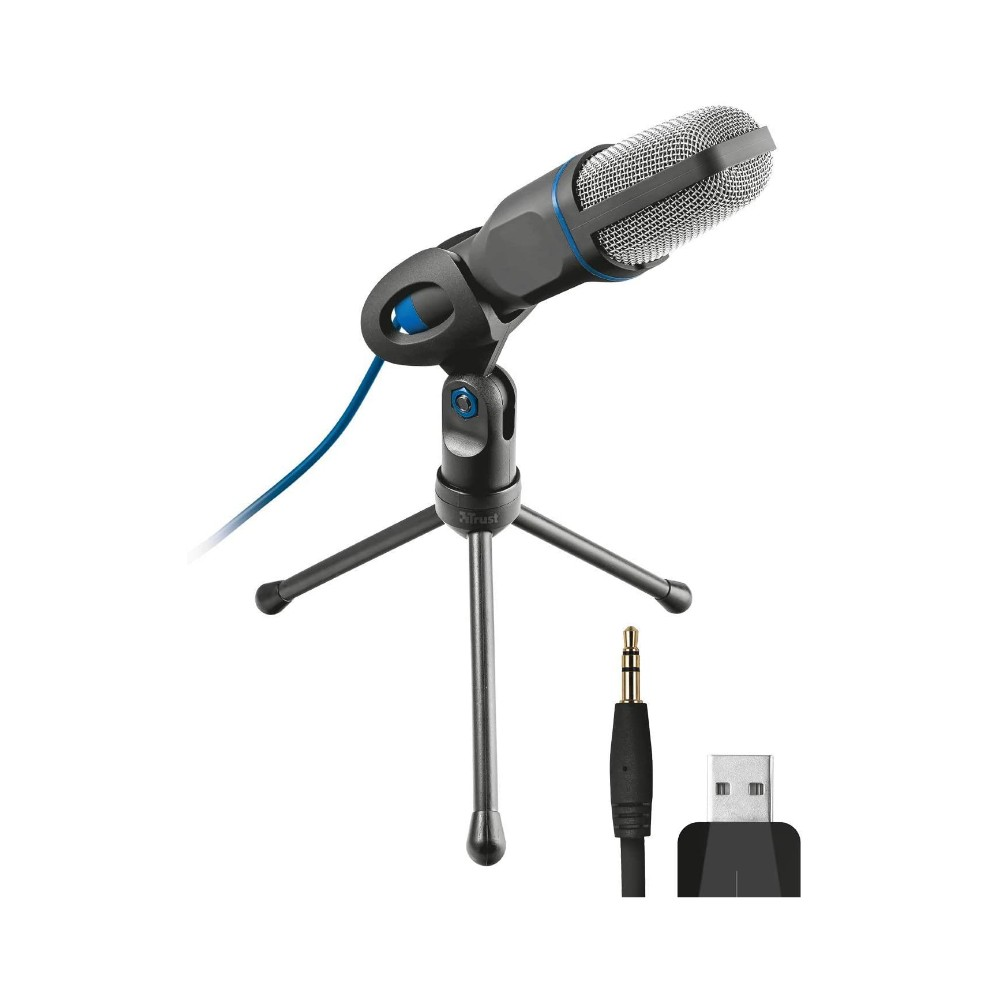 Microfone Trust Mico All-round USB P2/USB Omnidirecional