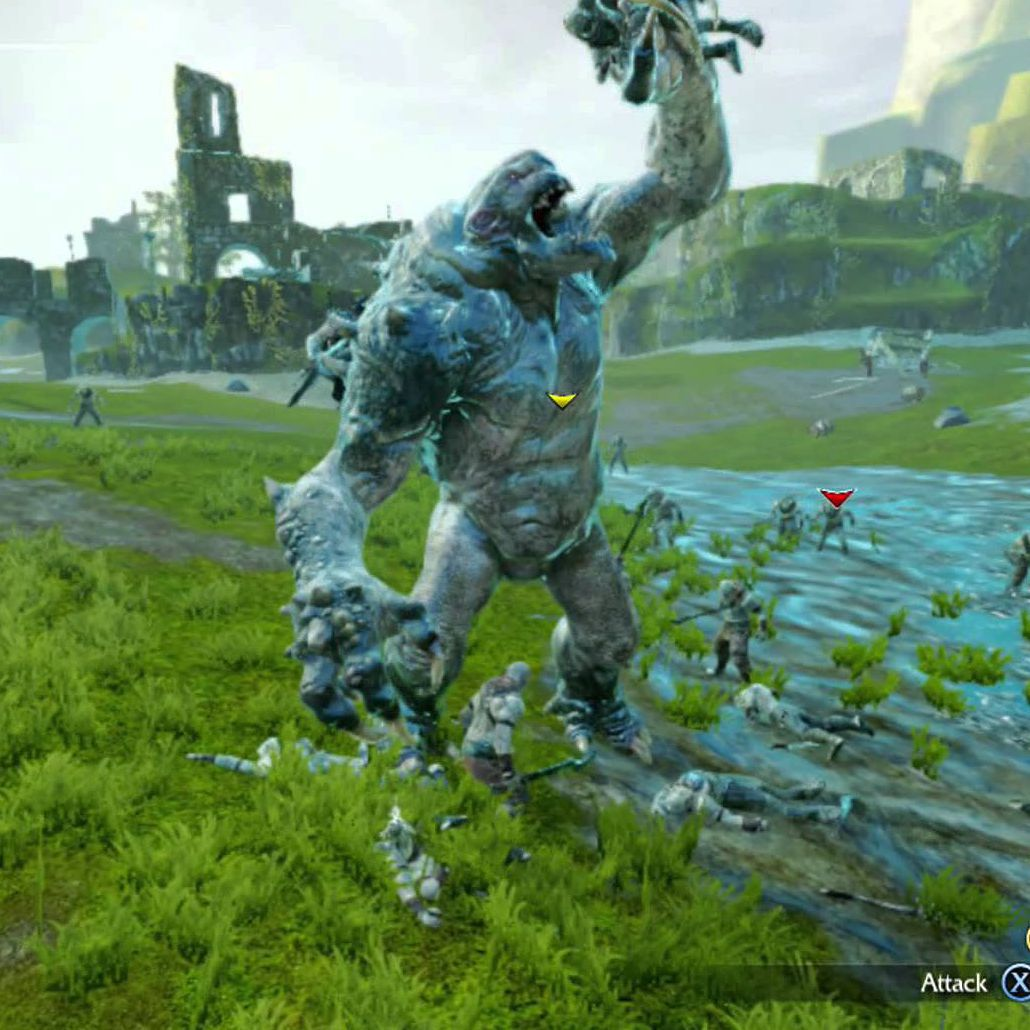 Middle - Earth Shadow of Mordor - Xbox 360
