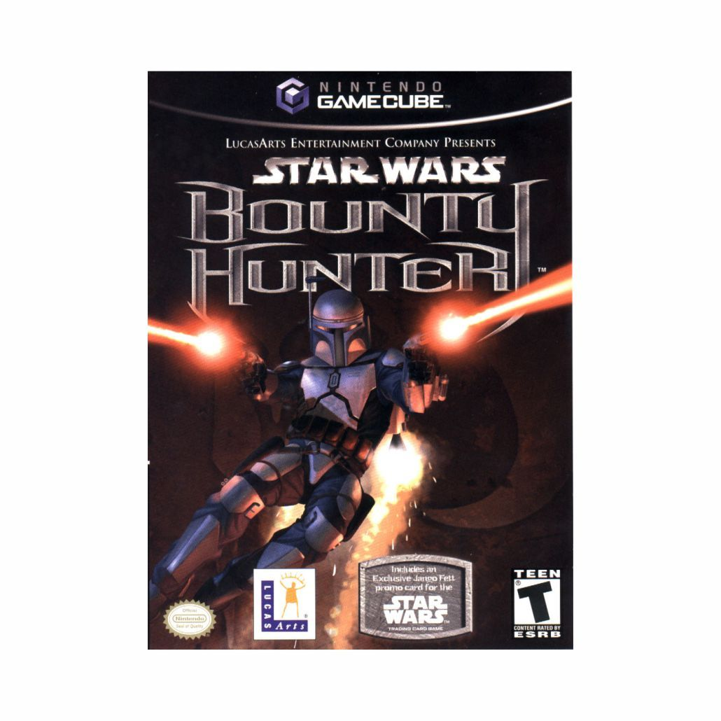 Mídia Física Game Cube Star Wars Bounty Hunter