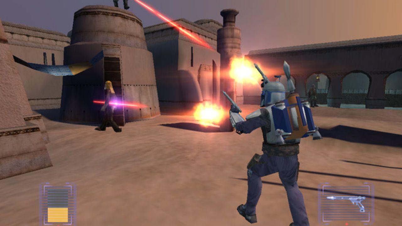 Jogo Star Wars Bounty Hunter - GameCube