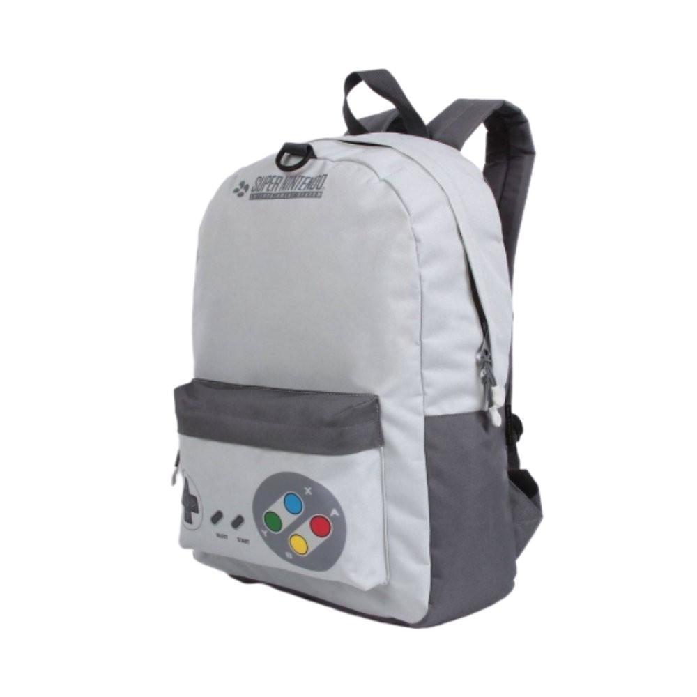 Mochila Nintendo Com Fone - Super Nintendo - Poliéster