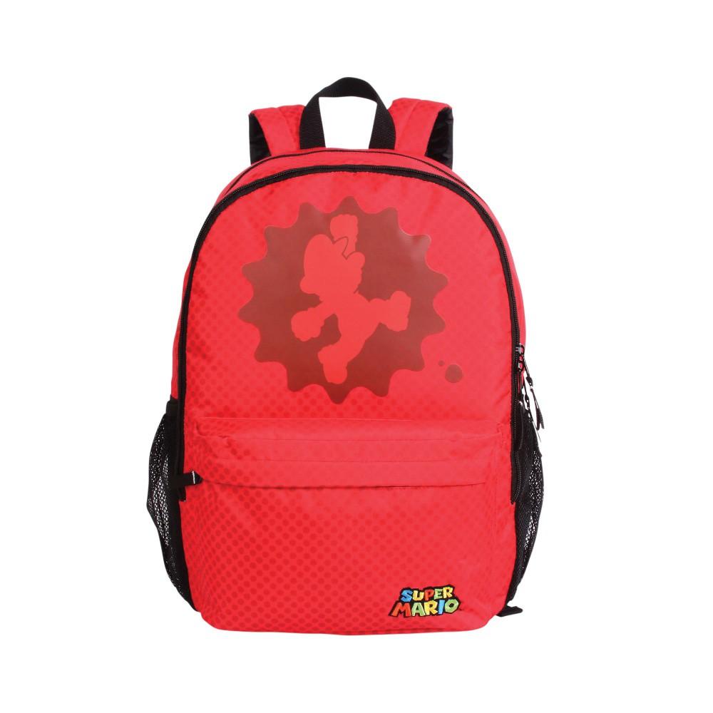 Mochila Super Mario - Vermelha - Poliéster