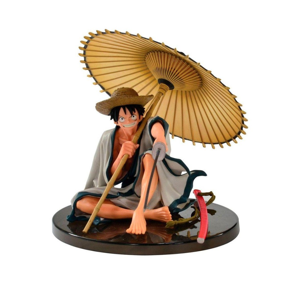 Figure Monkey D. Luffy - One Piece - Banpresto - 14CM