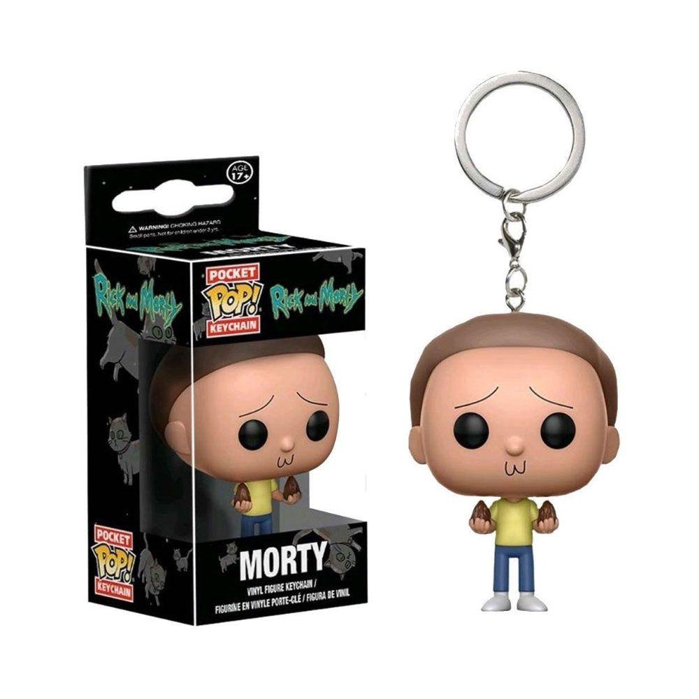 Pocket POP! Chaveiro - Morty - Rick and Morty