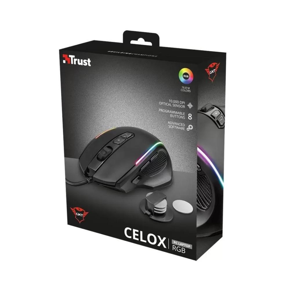 Mouse Trust Celox GXT 165 Com Fio