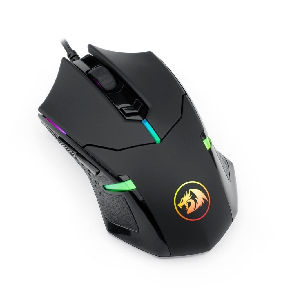 Mouse Gamer Redragon Centrophorus 2 Preto RGB 7200DPI
