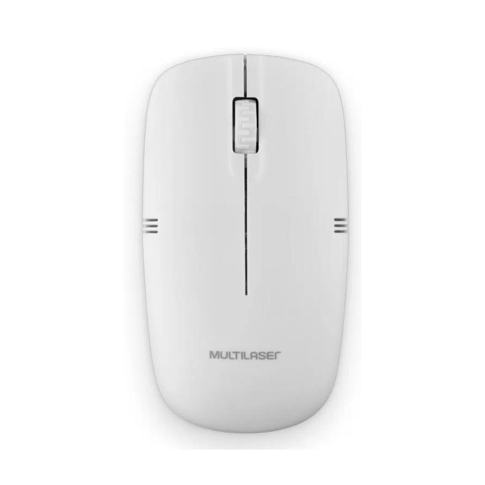 Mouse Multilaser 1200 DPI Sem Fio
