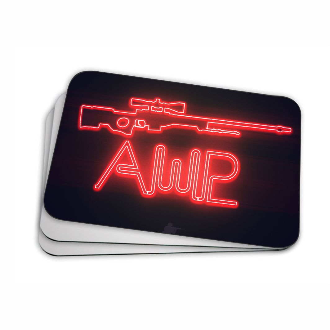 Mouse pad para Computador 20x17 - Counter Strike AWP