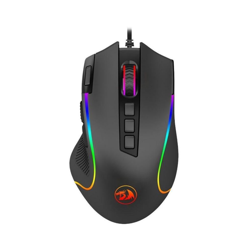 Mouse Redragon Predator Preto RGB 8000DPI Com Fio