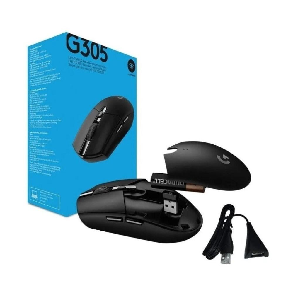 Mouse Gamer Logitech G305 Hero Lightspeed 12000 DPI Sem Fio