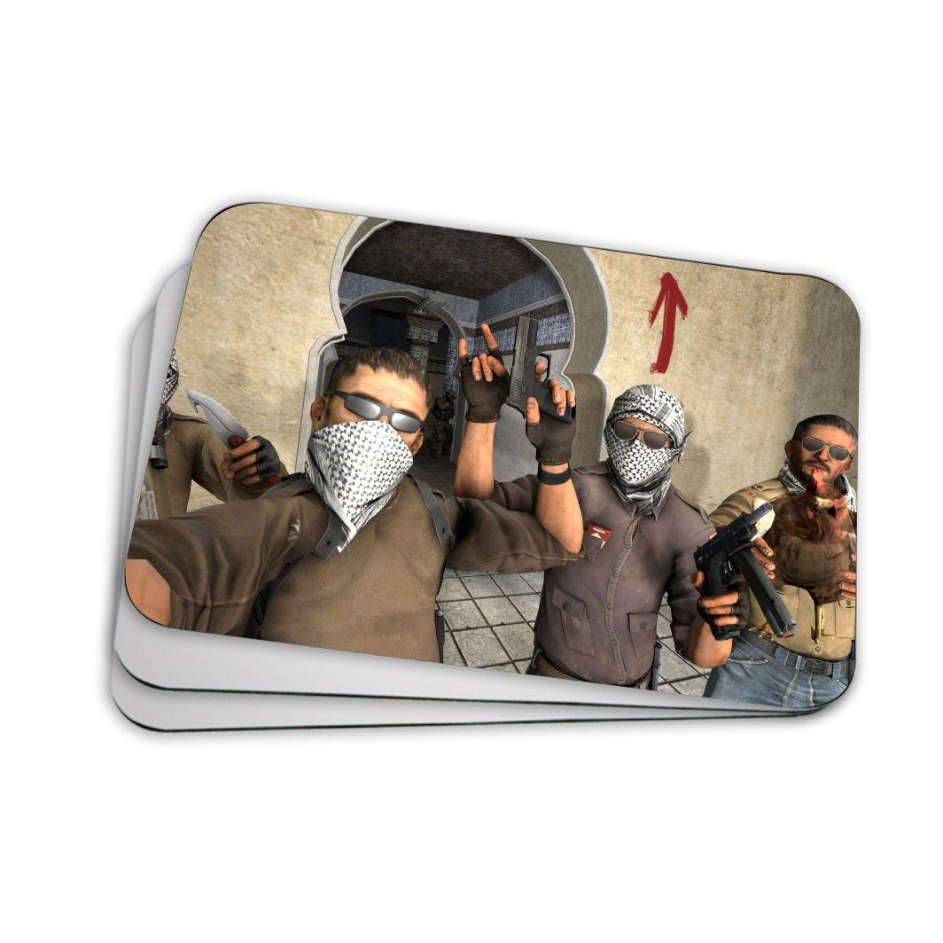 Mouse pad para Computador 20x17 - Counter Strike Terroristas
