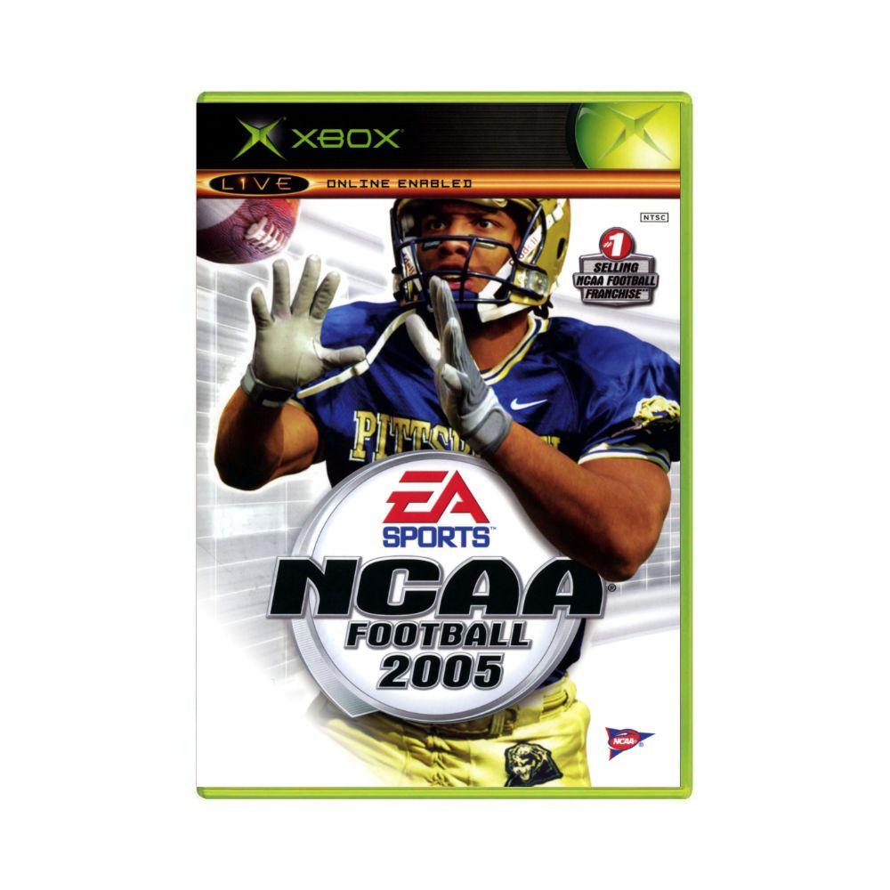 Jogo NCAA Football 2005 + Top Spin - Xbox Classico