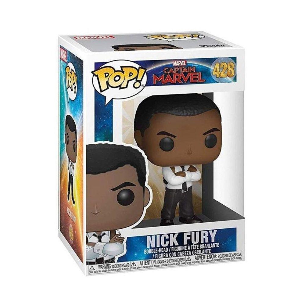 POP! Funko - Nick Fury 428 - Captain Marvel