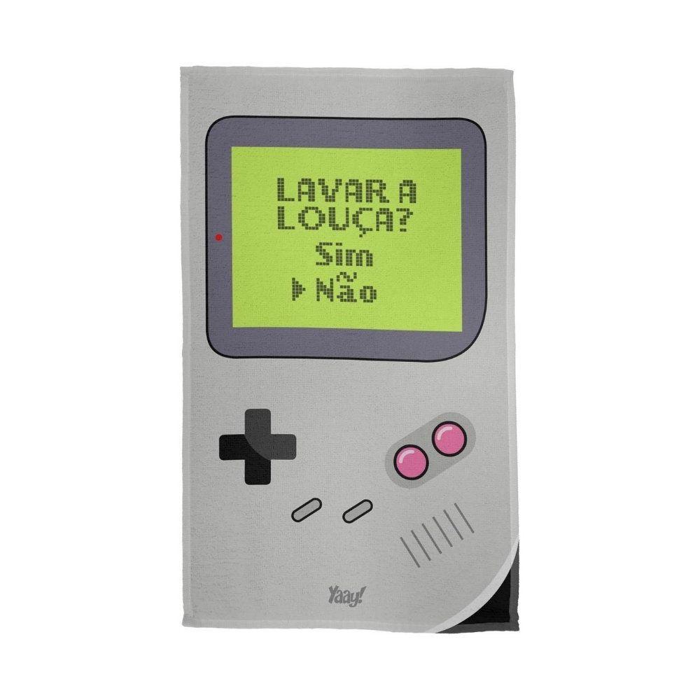 Pano de Prato Game Boy - Nintendo - 49X29