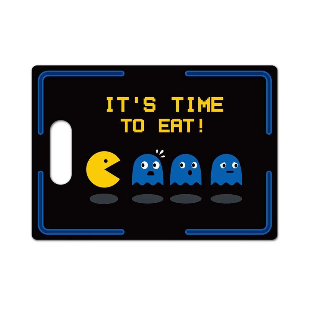 Tábua de Carne de Vidro Pacman - 25X35