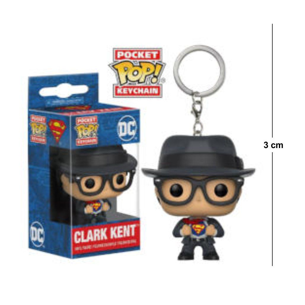 Pocket Funko POP Clark Kent Keychain
