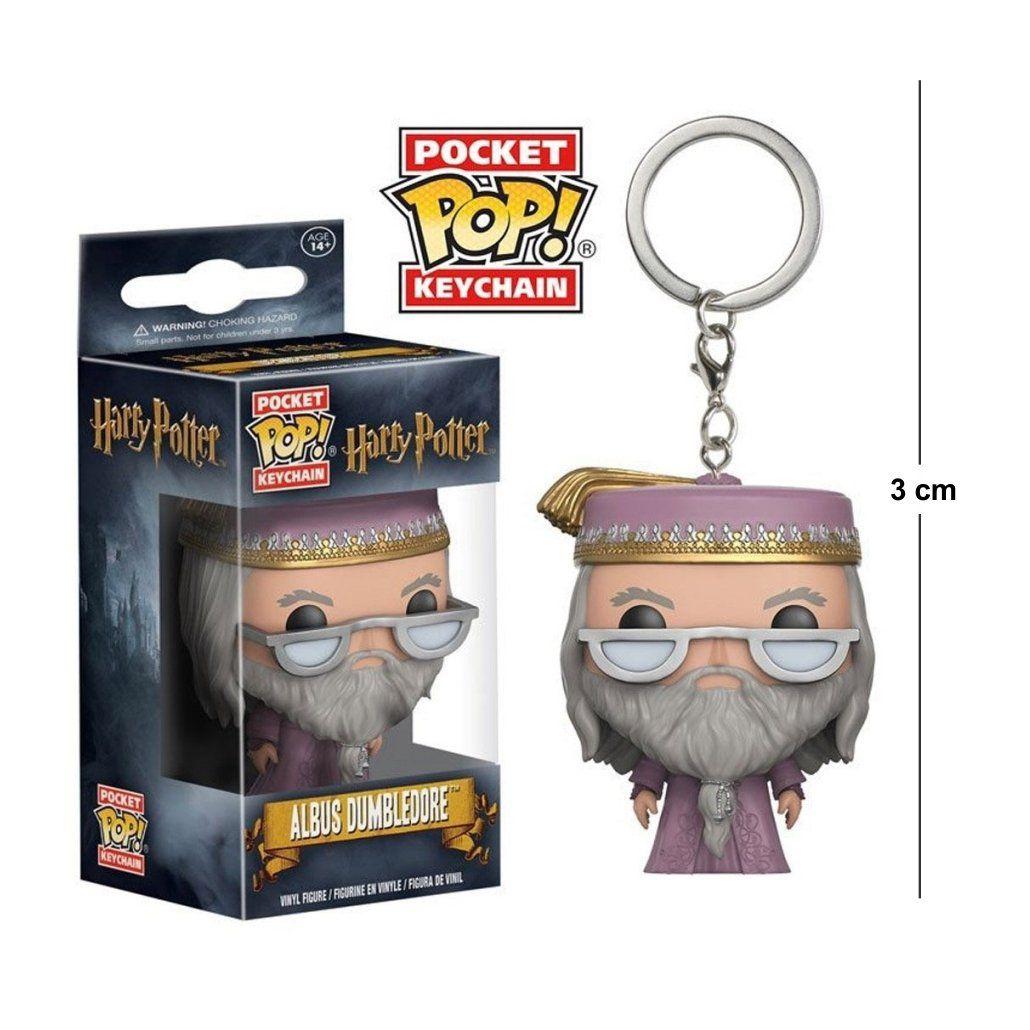 Pocket Funko POP Harry Potter Dumbledore Keychain