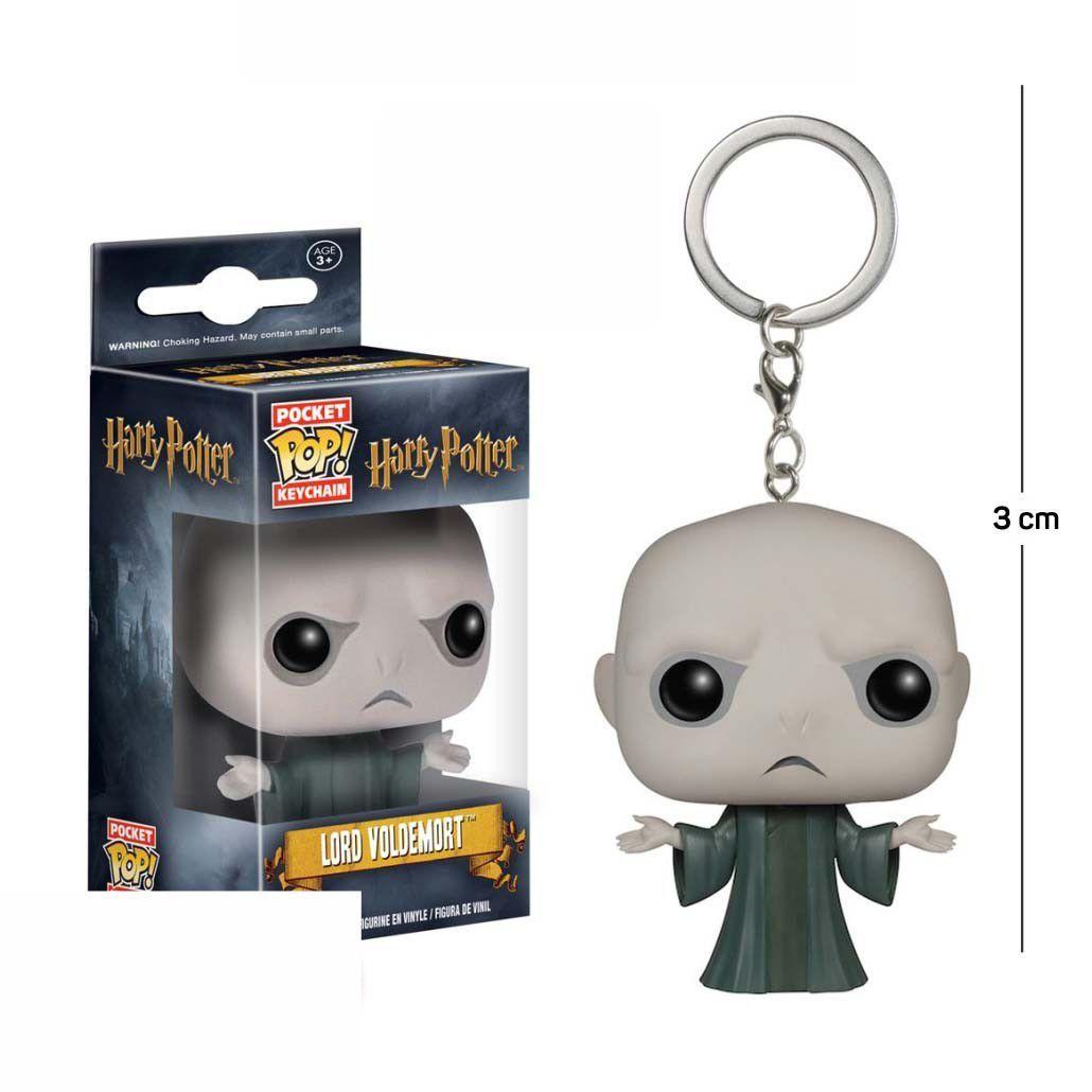 Pocket Funko POP Lord Voldemort Keychain
