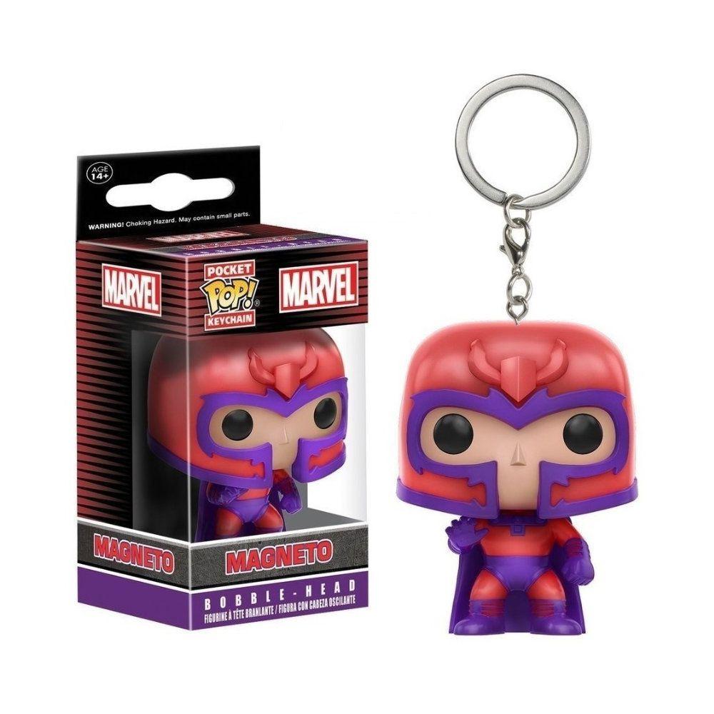 Pocket Funko POP X Men Magneto Keychain