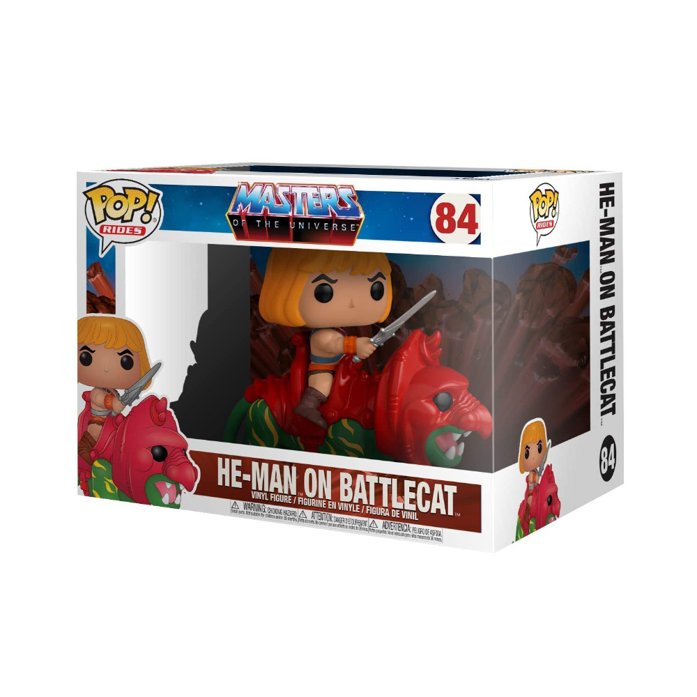 POP! Funko - He-Man 84 - Mestres do Universo