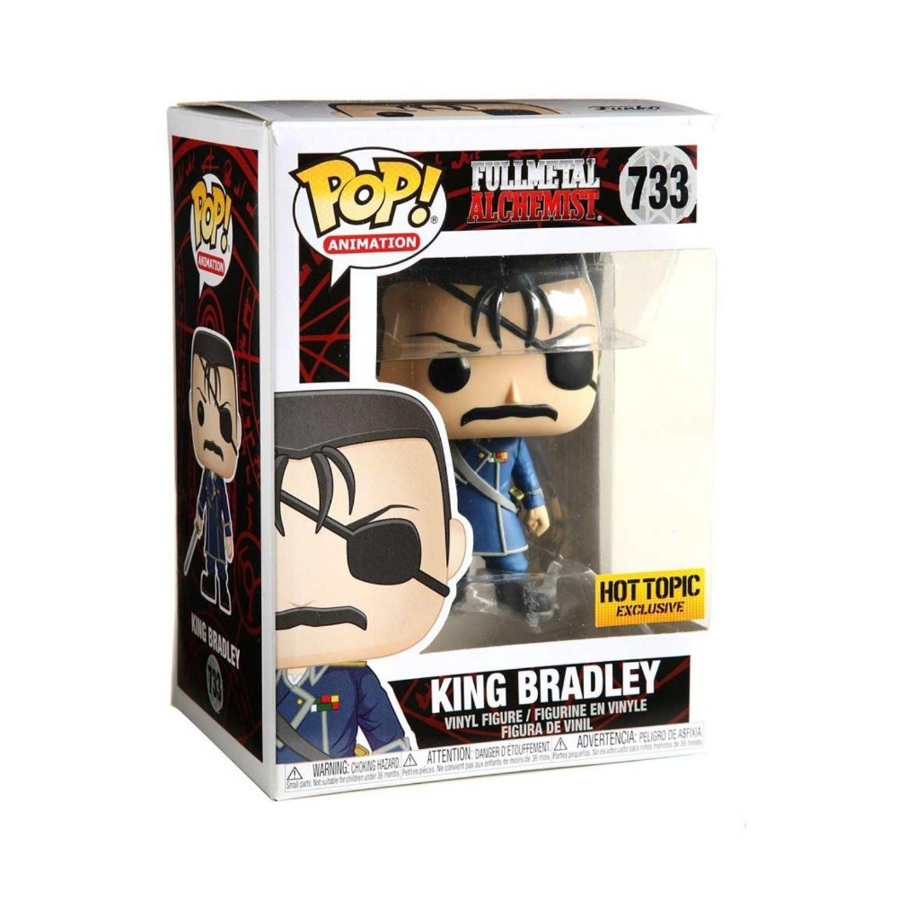 POP! Funko - King Bradley 733 - Fullmetal Alchemist