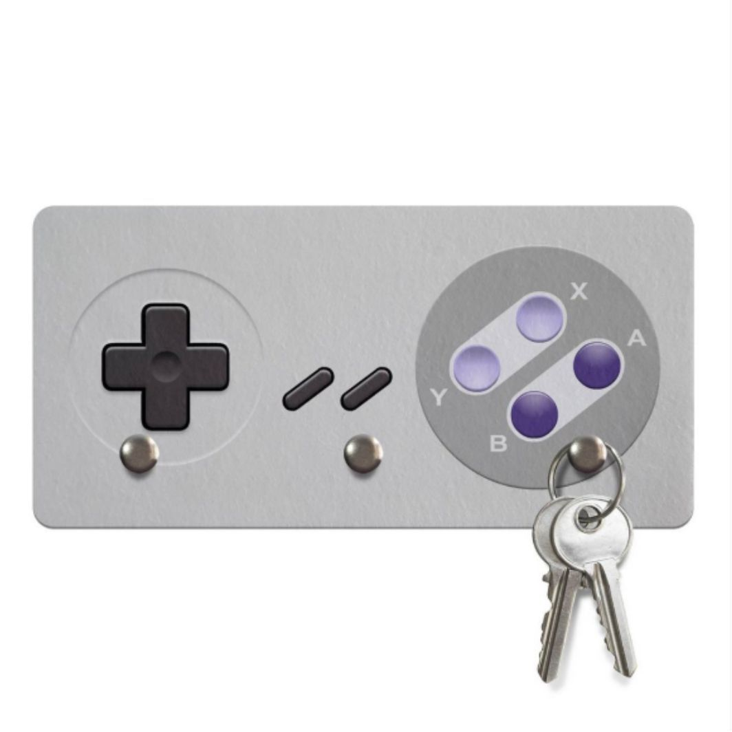 Porta Chave / Colar / Pulseira Super Nintendo